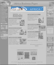 full banner of africa business