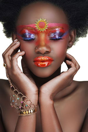 African beauty sector
